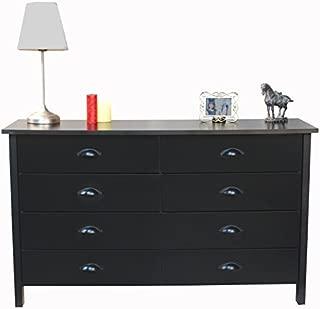 Venture Horizon 8 Drawer Nouvelle Dresser Black