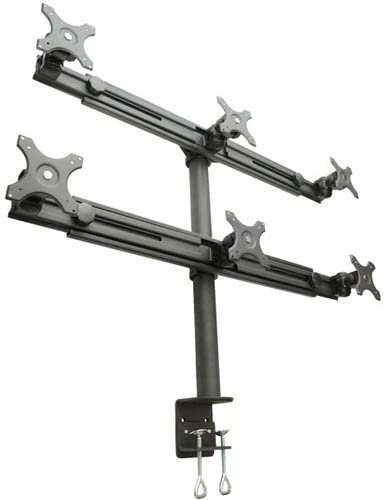 LCD-2060 Hex-Mount Monitor Stand for Six 15