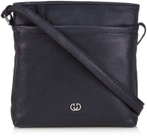 Gerry Weber Damen Piacenza Shoulder Bag Schultertaschen, Blau (402), 21x22x6 cm