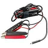 CTEK 40-465 USB-C Charge Cable Clamps-ALIMENTA Il Tuo CS Free Ovunque Ti TROVI UTILIZZANDO LA Batteria di Servizio 12V, Nera