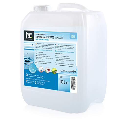Höfer Chemie 2 x 10 L Demineralisiertes Wasser