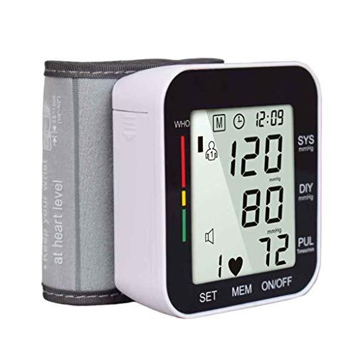 XUEYAYI Automatisches intelligentes Handgelenk-elektronisches Blutdruckmessgerät, englisches Hilfsstimmungs-Blutdruckmessgerät