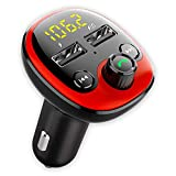 CRUST Car Bluetooth Device with Call Receiver for Music System, FM Transmitter