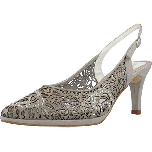 Argenta Zapatos Tacon 27041 Mujer Gris 37