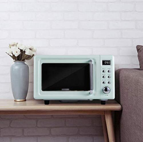 LJXWH Mikrowelle, zu Hause Multi-Funktions-Heizofen, kleine Mini-Smart-Heizung, Flachmikrowellenofen Küche/Restaurant/Hotel/Büro/Krankenhaus (Color : Green)