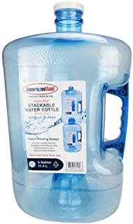 Pack of 6 - Three Gallon Stackable Water Bottle