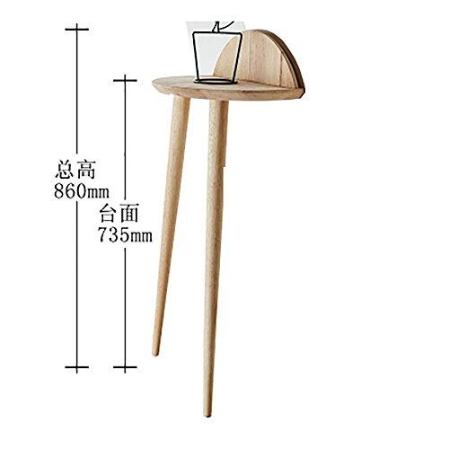 LLLXUHA Bois Massif Bord de Table Type de Plancher Support de Fleurs, intérieur Salon Étagère de Rangement, Balcon Succulentes Présentoir, Primary Color, 40 * 86cm