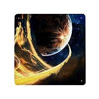 金属製 メタルサインプレート 宇宙の惑星 流れ星 銀河 看板 メタルプレート インテリア ブリキ看板 広告 壁装飾 サインボード メタル飾り板 おしゃれ 30X30cm カフェ バー 店舗 ガレージ カスタマイズ可能