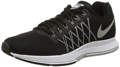 Nike Wmns Air Zoom Pegasus 32 Flash, Scarpe da Corsa Donna, Nero (Negro (Blck / Rflct Slvr-Pr Pltnm-Cl Gr)), 36 EU