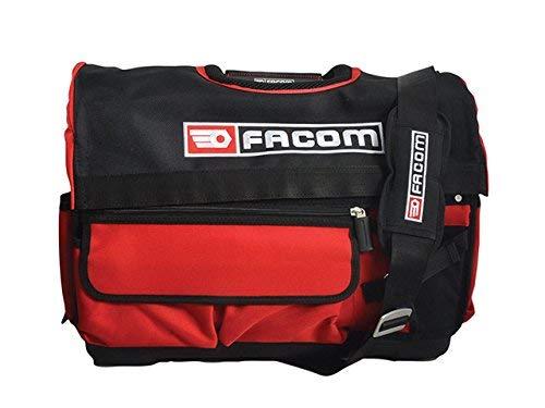 Facom BS.T20 Caja de herramientas tejido, Rojo y negro