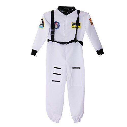 LOVIVER Disfraz De Astronauta Chicos Spaceman Jumsuit Disfraz De Niños Traje De Fiesta Juego De Roles - SG