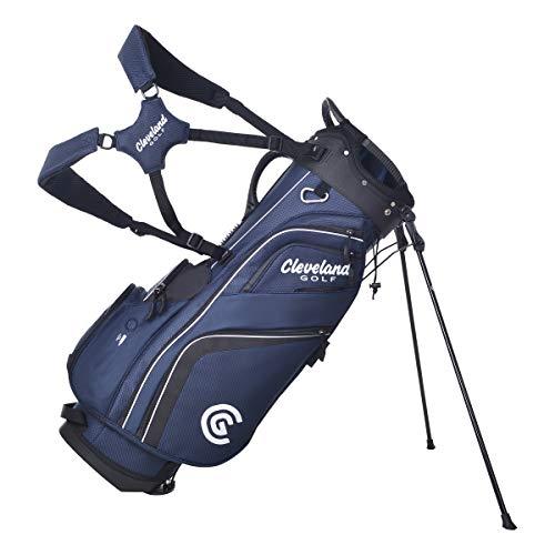 Cleveland Golftasche, Unisex-Erwachsene, Tasche mit Ständer, CG Stand Bag, Marineblau / schwarz