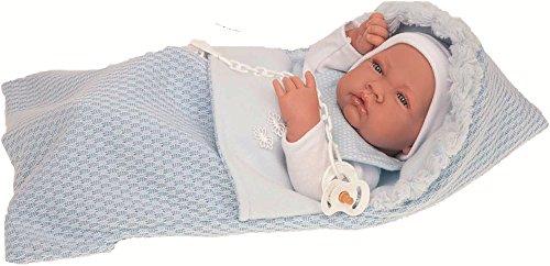 Muñecas Antonio Juan- Muñeco Baby Born Saco Lana 42 cm, Multicolor (5015)