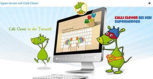 Tipptrainer - 10 Finger schreiben für Kinder 6-MONATS-ABO