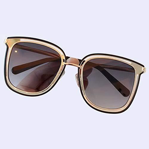 YJDZHSQ Gafas de Sol Cat Eye para Mujer Gafas de Sol con Montura de Metal para Mujer Gafas de Sol VintageNo 1