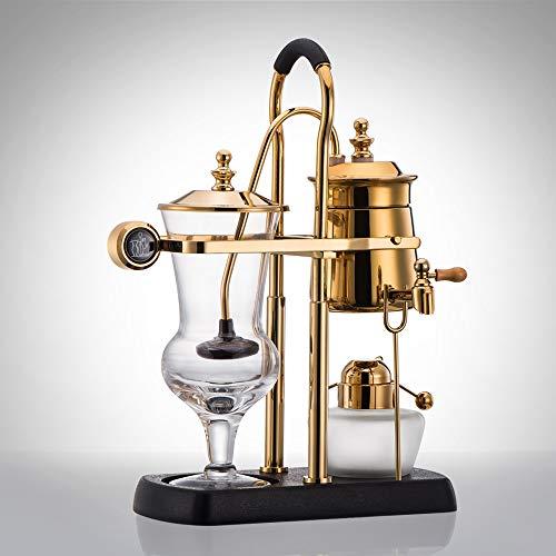 Válvula mezcladora Cafetera con sifón equilibrado Royal Luxury de lujo belga Filtro de agua desmontable Diseño de filtro de tela Filtro de grifo giratorio de 360 grados Adecuado for uso doméstico