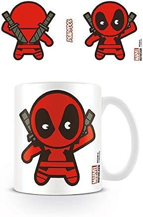 Preisvergleich für DC Universe Marvel Comics Kaffeetassen, Keramik, Mehrfarbig, 7.9x11x9.3 cm