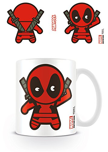 Marvel Kawaii - Taza Deadpool, 320 ML