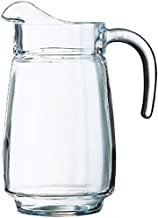 Luminarc Arc International Tivoli Pitcher, 77.5 oz, Clear