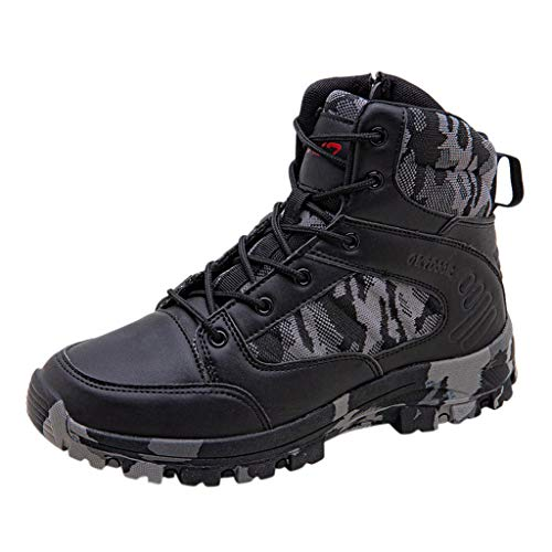 Briskorry Herren Sneaker Gittergewebe Sport Lässige Schuhe Dauerhaft Wüste Draussen Wandern Lederstiefel Kampfschuhe Sportschuhe Outdoorschuhe Laufschuhe trekking schuhe