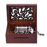 Sutinna Tape Compose Music Box DIY Music Box, 15 Notes Music Box, Escritorio para Office Home Friends