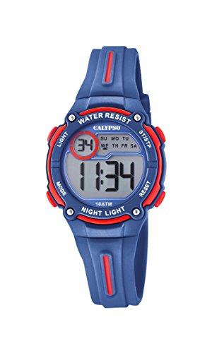 Calypso Reloj Digital para Niños de Cuarzo con Correa en Plástico K6068/4