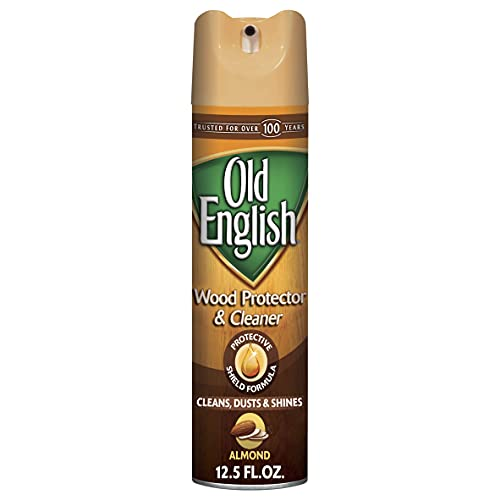 Old English Furniture Polish - Almond Scent 12.5 oz Aerosol Can