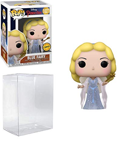 Blue Fairy Chase Edition Pop #1027 Disney Pinocchio Vinyl Figure (Bundled with EcoTek Protector to Protect Display Box)
