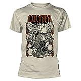 Lucifer Undead Shirt S-XXL Occult Hard Rock Metal Band Merch New Sand Color XL...