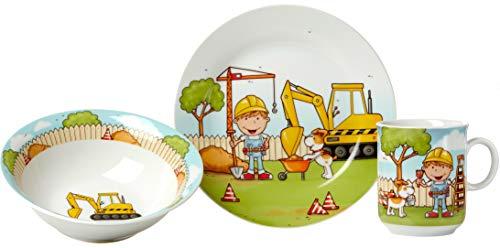 Ritzenhoff & Breker 049.626 Juego de vajilla Porcelana Color Menta 3 Pieza(s) - Juegos de vajillas (1 Personas(s), Porcelana, Color Menta, Alrededor, 3 Pieza(s))