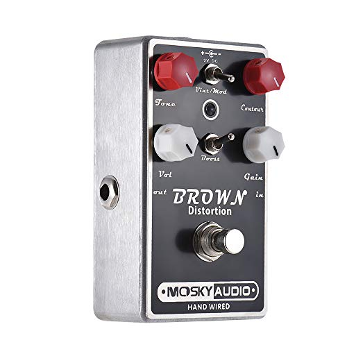 MX kingdom Professional Multi-Digital shape guitar effect pedal, with photoelectric vibrato/Bass Effects