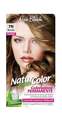 teinture pour les cheveux coloration permanent naturel natur color green7 n blond