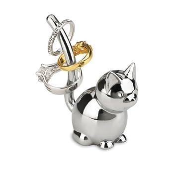 Umbra 299212-158 Zoola Cat Ring Holder Chrome