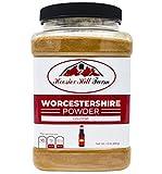 Worcestershire Sauce Powder 1.5 lb Jar, Hoosier Hill Farm