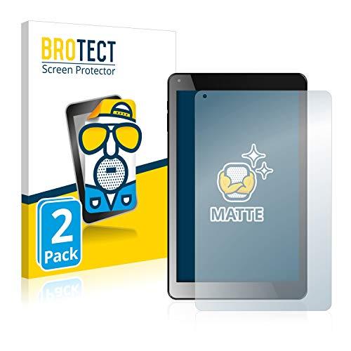 BROTECT 2X Entspiegelungs-Schutzfolie kompatibel mit Odys Maven X10 HD LTE Bildschirmschutz-Folie Matt, Anti-Reflex, Anti-Fingerprint