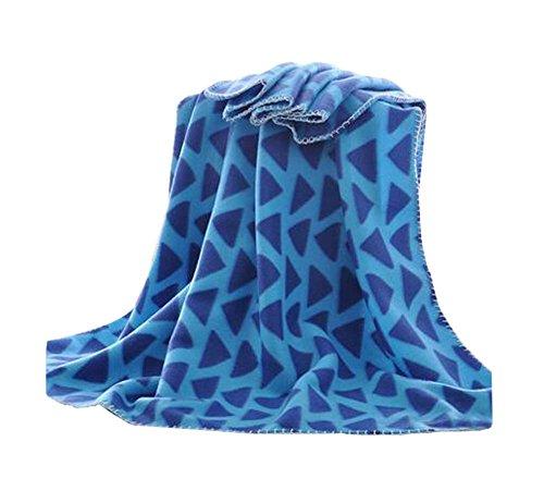 Bureau d'été confortable Fashion Petit Throw Blanket, 100x150cm / 39x59 pouces