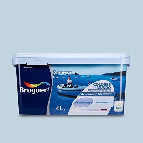 Bruguer M112007 - Pintura plastica colores del mundo mediterraneo intermedio