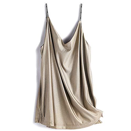 MOXIN Strahlenschutzanzug 100% Silberfaser Shielding Pregnant Dress, Wear für Frauen Strahlenschutz Schwangerschaftskleidung, Umstandsmode echte Anti-Strahlenschlinge aus Silberfaser,Metallisch