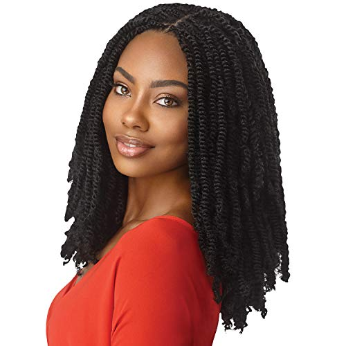 MULTI PACK DEALS! Outre Synthetic Braid - X PRESSION TWISTED UP SPRINGY AFRO TWIST 16 (3-PACK, 1B)