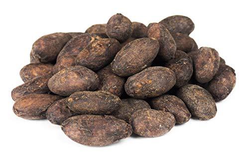 Edelmond rohe Bio Kakaobohnen. Frischware. Lizensiertes Fair Trade. Bio ohne Insektizide, eine Edel-Schokoladen Bohne.