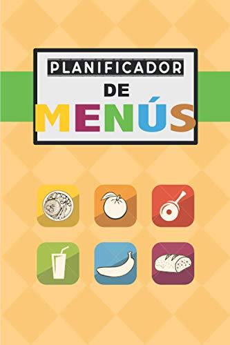 PLANIFICADOR DE MENÚS: Realice un seguimiento y planifique sus comidas semanalmente (planificador de alimentos / registro / diario / calendario): ... comidas y planificación de lista de compras