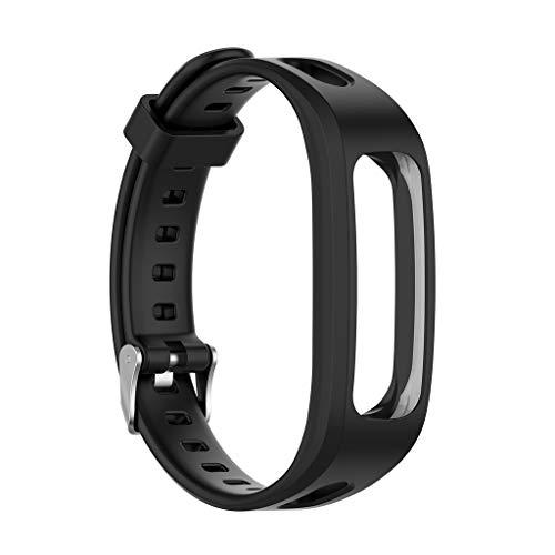 A0127 - Correa de reloj de silicona ajustable para Huawei Band 3E / Honor Band 4