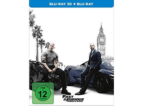 Fast & Furious: Hobbs & Shaw - Exklusiv 3D Steelbook + Blu-ray - Uncut