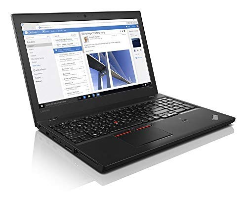 Lenovo ThinkPad T560 2.4GHz i5-6300U 15.6' 1920 x 1080pixels Black Notebook (Renewed)