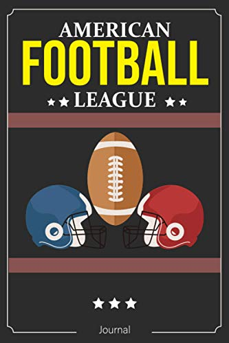 American Football League Coach Playbook Gift Coach Notebook , American Football Day Gift: American Football Playbook with Field Diagrams for Drawing Up Plays, Creating Drills and Scouting