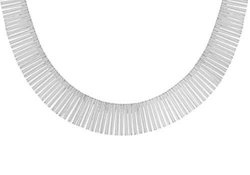 Tuscany Silver Women's Sterling Silver XL Cleopatra Necklace of Length 43.18 cm/17 Inch