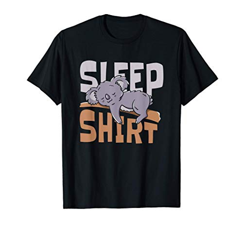 Schlafanzug Pyjama Koala Nachthemd Geschenk T-Shirt