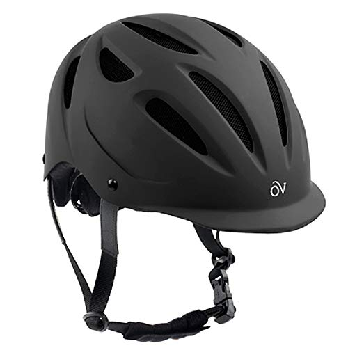 Ovation Women's Protege Riding Helmet, Black Matte, Large/X-Large