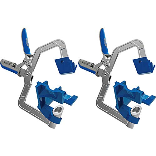 Kreg 90 Degree Corner Clamp for Corner Joints and T Joints, 2 Pack