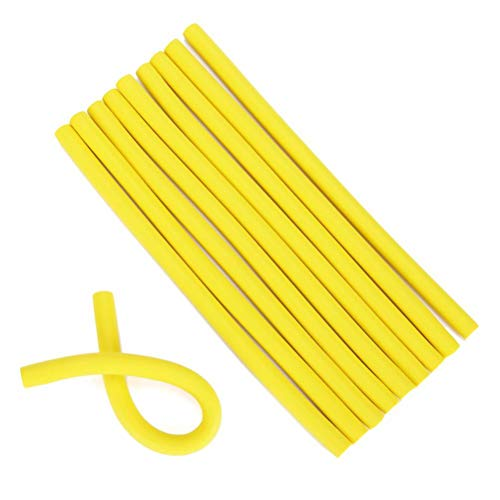 WINBST Papilotten, espiral Twist pelo rizador, rizador flexible, DIY Styling Peluquería rizador de pelo, herramienta de peinado Spongia Foam Twist Curls